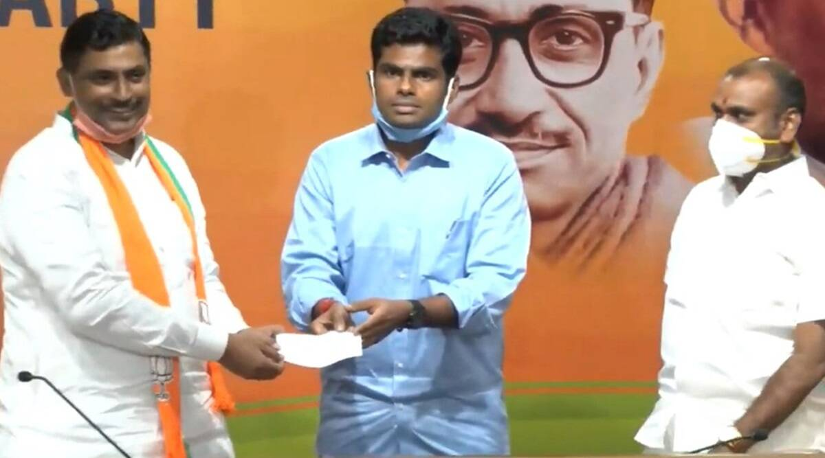 Former Karnataka IPS officer 'Singham Annamalai' joins BJP | India News,The  Indian Express
