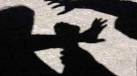 Rape accused, cop attacked, Ahmedabad news, Gujarat news, Indian express news