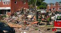 US: Blast destroys Baltimore homes; at least 1 dead, children trapped