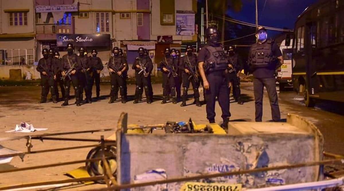 Bengaluru riots, Bengaluru violence, Bengaluru Facebook post riots, riots in Bengaluru, violence in Bengaluru, Bengaluru news, city news, Indian Express