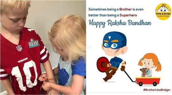 boy save sister dog attack, raksha bandhan, boy who saved sister dog attack rakhi, captain america boy dog attack, avenger cast reach out boy saved dog attack, viral news, good news, indian express