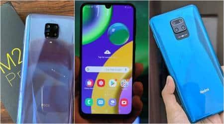 best budget smartphones 2020, best budget phones under 15000, poco m2 pro, realme 6i, redmi note 9 pro, samsung m21, vivo y30