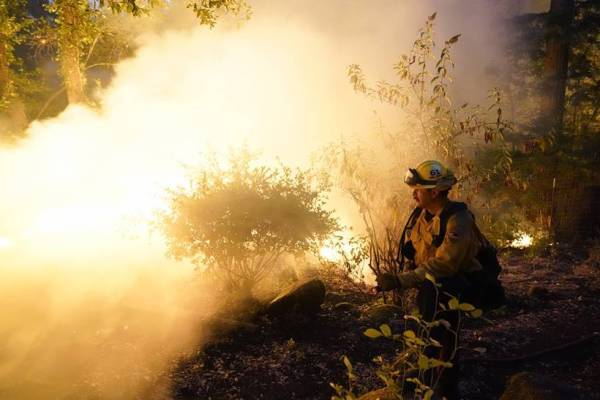 california, california wildfire, wildfires in california, heatwave, world news, indian express news