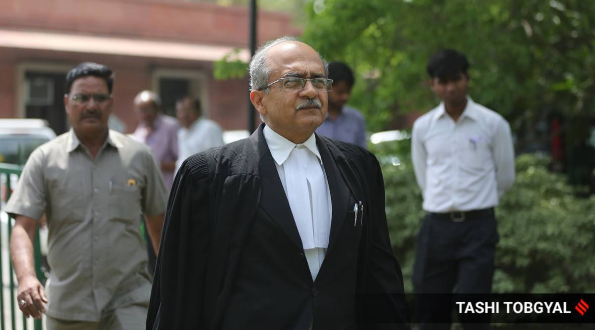 Prashant Bhushan, Prashant Bhushan contempt case, Prashant Bhushan contempt case Supreme Court, Supreme Court Prashant Bhushan case, India news, Indian Express
