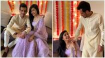 'We said yes': Chahal shares pictures from Roka ceremony with Dhanushree Verma