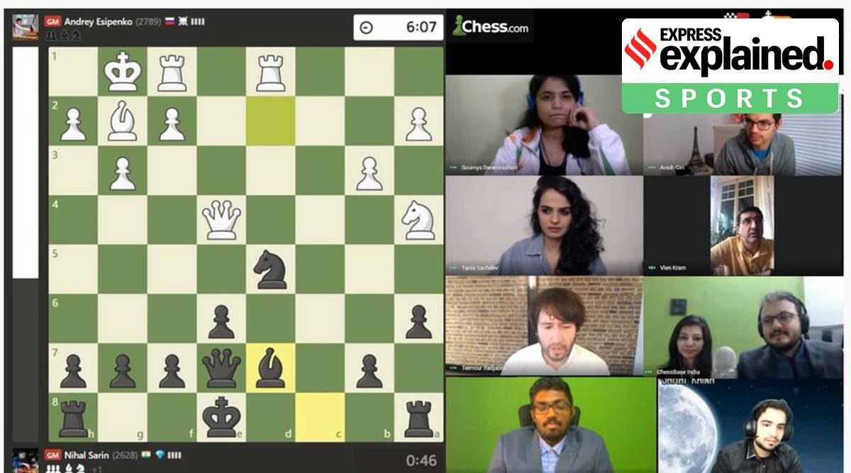 Chess Olympiad, Chess Olympiad final india, Chess Olympiad final results, Nihal Sarin, Vishwanathan anand, Koneru Humpy, indian express, express explained