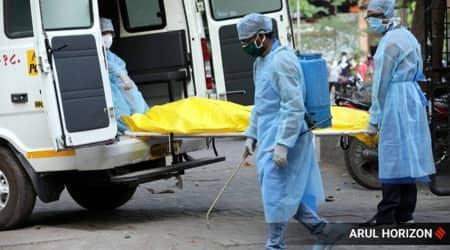 Gujarat covid-19, gujarat covid cases, gujarat police covid cases toll, gujarat covid death toll, indian express news