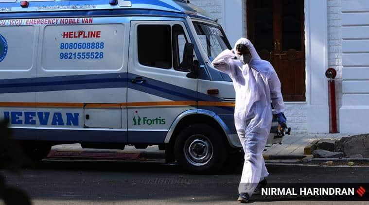 ahmedabad covid-19, ahmedabad municipal council, WHO, ahmedabad covid measures, ahmedabsd covid tackling, indian express news