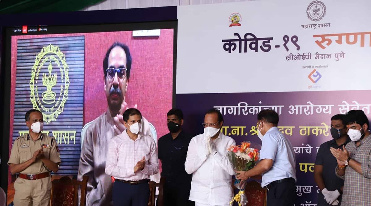 pune coronavirus latest update, pune coronavirus facility, pune covid facillity, College of Engineering Pune, College of Engineering Pune covid facility, uddhav thackeray, pune city news