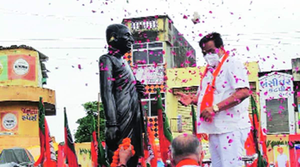 C R Patil, AIMIM, Gujarat BJP, Gujarat BJP president, CR Paatil, BTP-AIMIM alliance, Chhotu Vasava, Bhartiya Tribal Party, Gujarat local body polls, Gujarat local body elections, Gujarat news, indian express