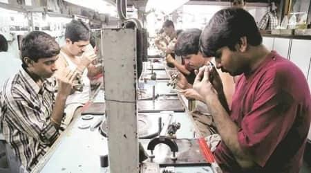 Surat Municipal Corporation, COVID-19 in surat, surat diamond textile industries, surat diamond textile shut, surat diamond textile shut over covid rules, indian express news,