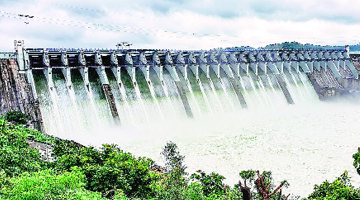 Sardar Sarovar Narmada Dam, water level, Vadodara news, Gujarat news, indian express news