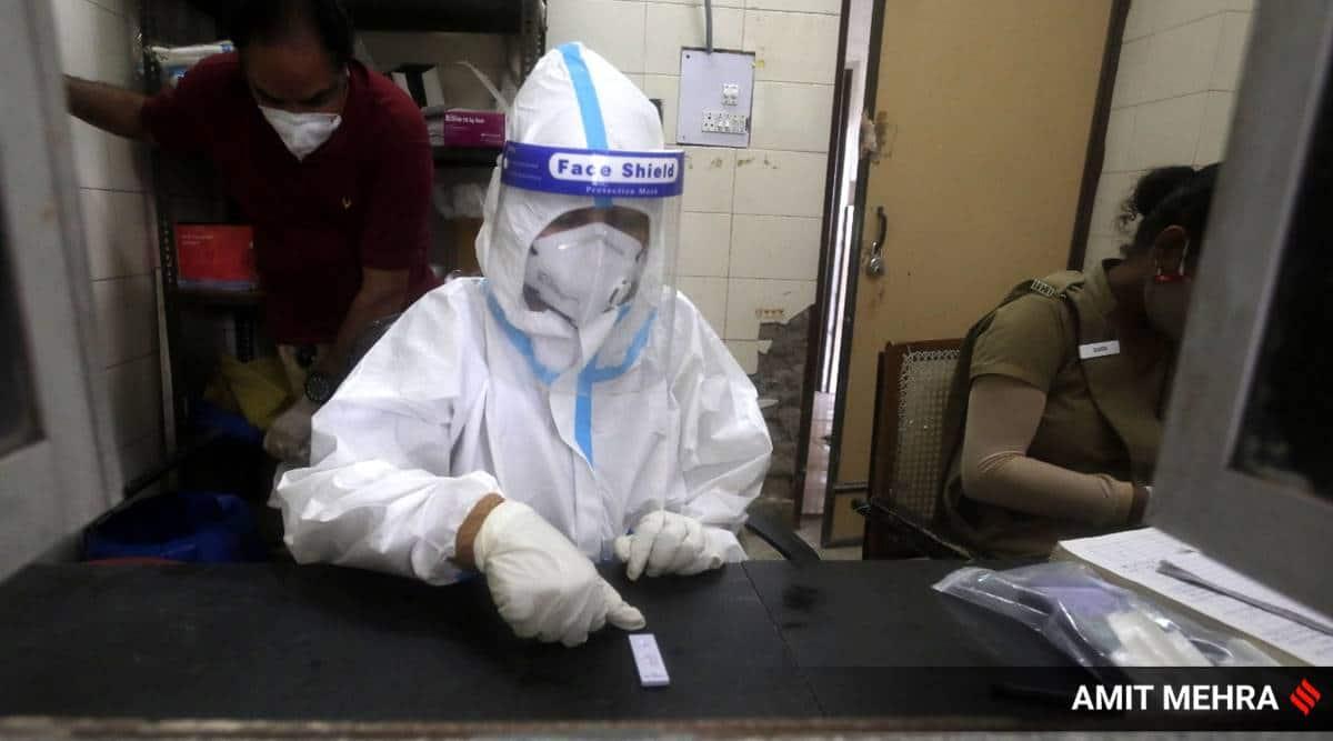 Covid cases, Coronavirus volunteers, health worker, Nair hospitals, Mumbai hospital, Indian express news
