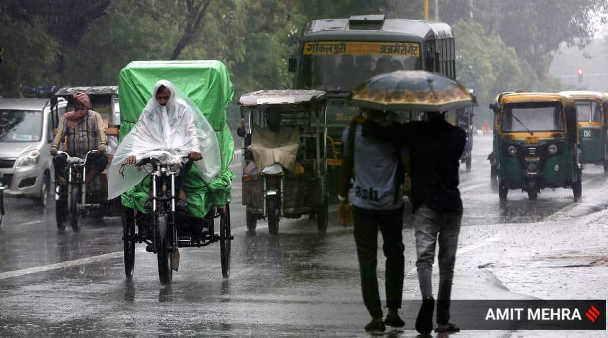 delhi rains, delhi imd rains, delhi rain deficiency, delhi monsoons, delhi monsoon deficiency, central delhi monsoon deficiency, delhi city news