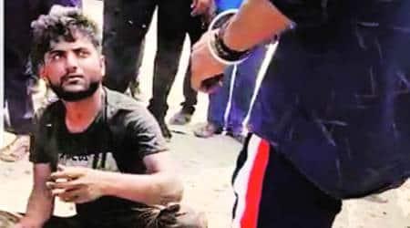 gurgaon truck driver, gurgaon truck driver beaten, haryana Police, Haryana news, gurgaon news, indian express