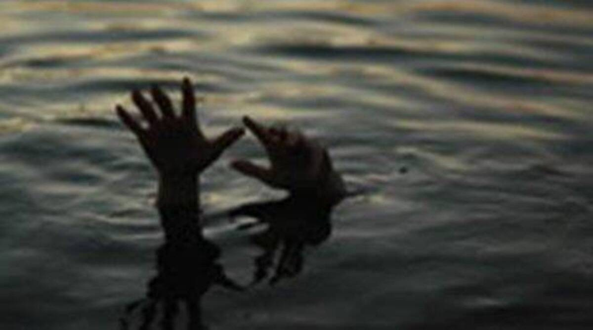 Bhiwandi River, brother drowned in Bhiwandi River, brother drowned while fishing in bhiwandi river, indian express news
