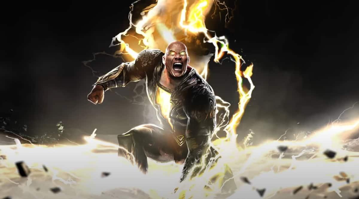 Black Adam teaser: Dwayne Johnson unveils his strenght