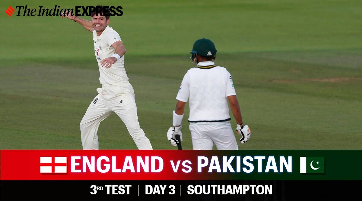 England Vs Pakistan 3rd Test Day 3 Highlights Azhar Ali Ton Fails To Stave Off Follow On Sports News The Indian Express