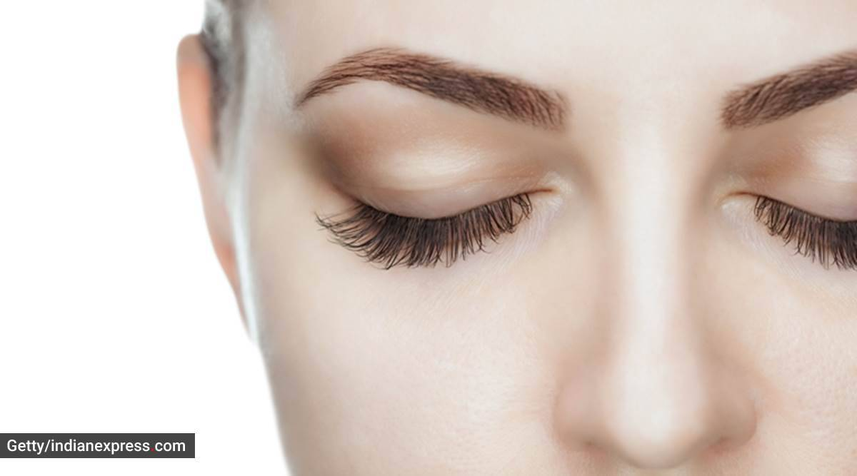 eyebrows, eyebrow grooming at home, dense eyebrows, how to get thick eyebrows at home, indian express, indian express news