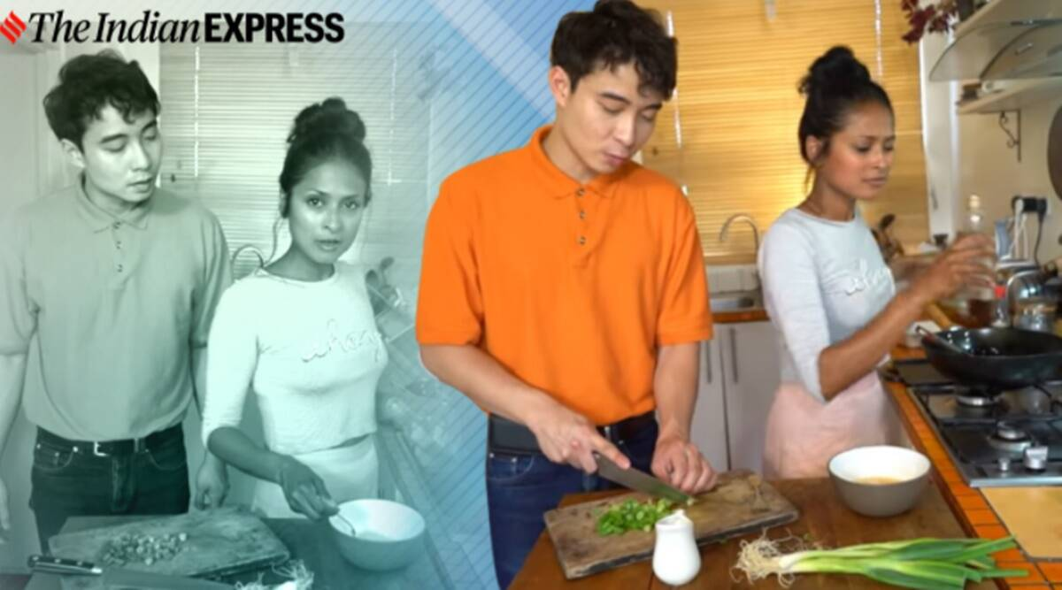 Uncle Roger, Fried rice, BBC host, Hersha Patel, Uncle Roger and Fried rice lady, Malaysian comedian friend rice review, Uncle Roger friend rice review, Nigel NG, BBC fried rice recipe, Trending news, Indian Express news