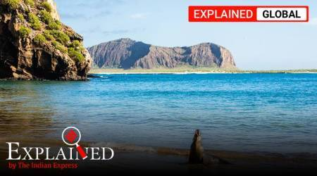 Galapagos Islands, chinese flotilla Ecuador, illegal fishing Ecuador, china fishing international waters, Ecuador President Lenin Moreno, indian express, express explained