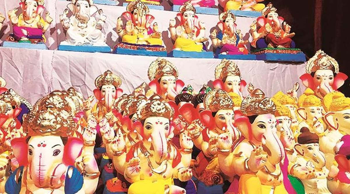 Ganesh immersion, ganesh chaturthi, Konkan region, Maharashtra news, Indian express news