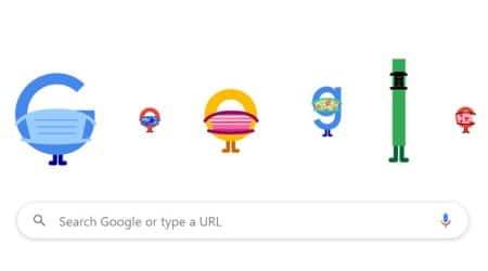 google doodle, covid 19, coronavirus, coronavirus prevention google doodle, google covid 19 doodles, coronavirus tips google, indian express