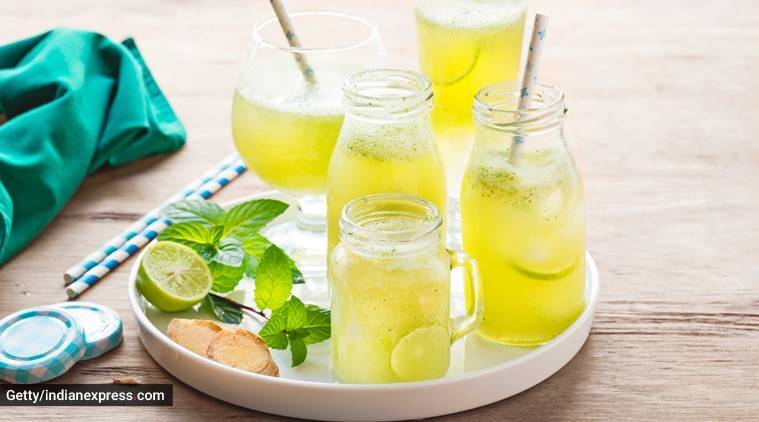 green tea, antioxidants, green tea lemonade health benefits, indianexpress.com, indianexpress, bad breath, lovneet batra, vitamin C benefits, cooling drinks,
