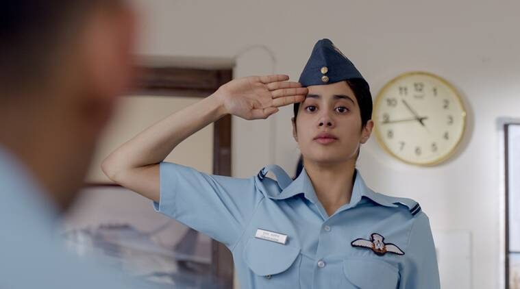 Gunjan Saxena The Kargil Girl Review Janhvi Kapoor Movie Doesn T Soar Entertainment News The Indian Express