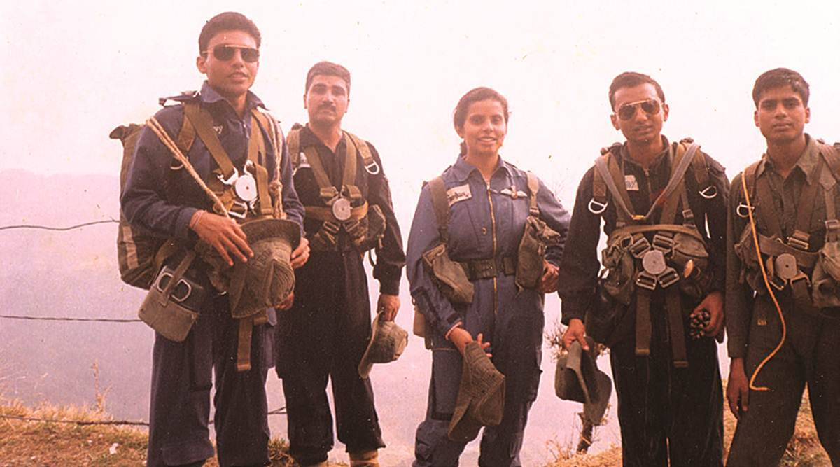 As Iaf Objects Gunjan Saxena Hopes Can Inspire Others India News The Indian Express