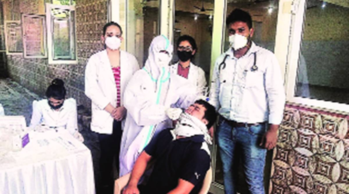 Gurgaon sees surge with 1,900 cases  in eight days