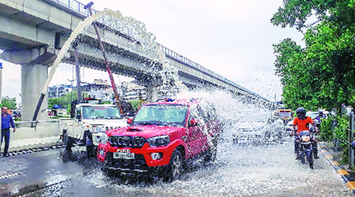 Unplanned growth, not rain gods to blame for Gurgaon's waterlogging woes