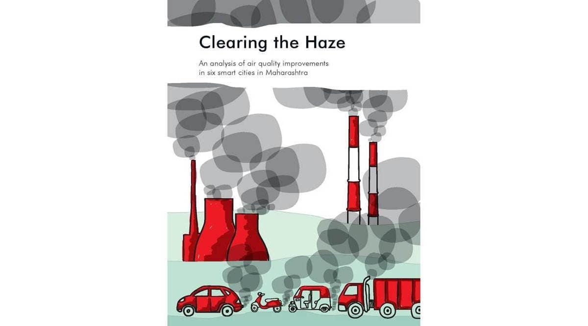 NGO Parisar, maharashtra air quality, maharashtra air quality study, ngo parisar air quality study, maharashtra smart cities, maharashtra smart cities aqi quality, indian express news