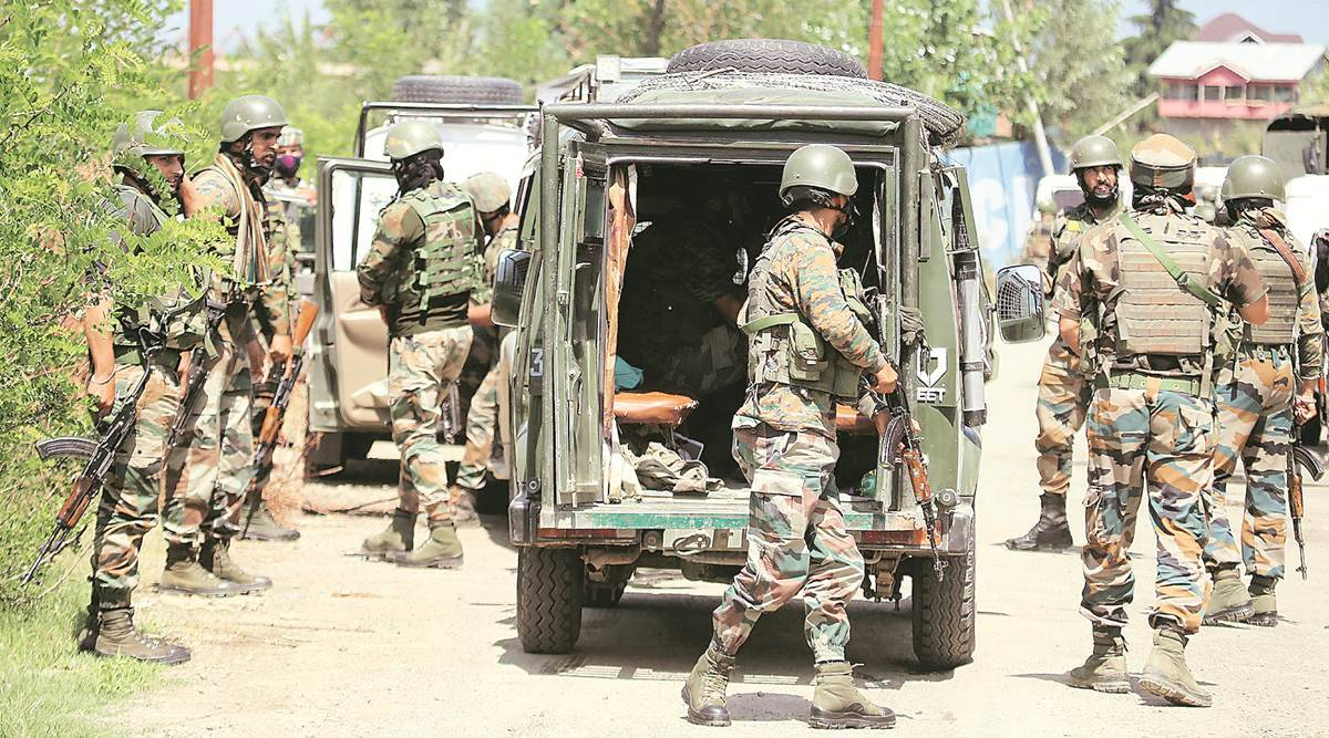 Militant behind BJP leader's killing shot dead in Baramulla   India News,The Indian Express