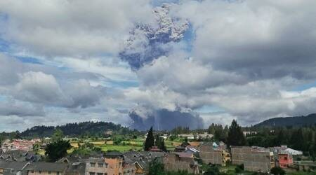 indonesia volcano, Mount Sinabung, Volcano, Indonesia, Volcanic eruption, indonesia news, indian express