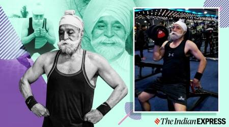 tripat singh, 75-year-old vegan diet, fitness goals, virat kohli, anushka sharma, tripat singh fitness, who is tripat singh, indianexpress.com, indianexpress,