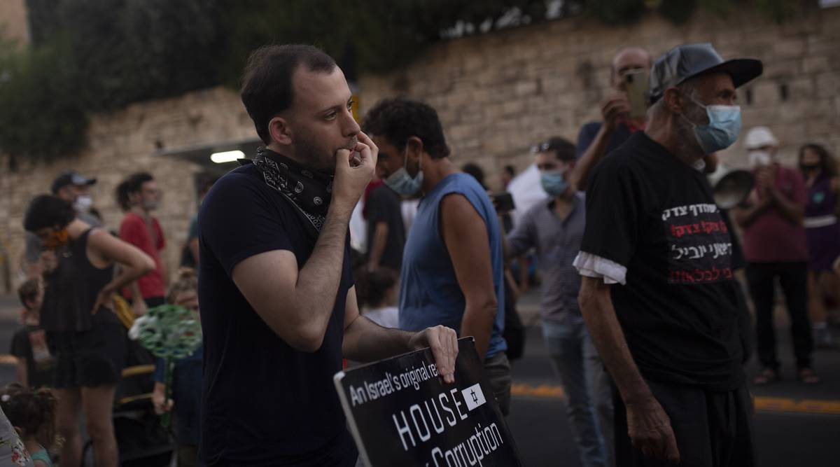 Political novices drawn to anti-Netanyahu protests in Israel