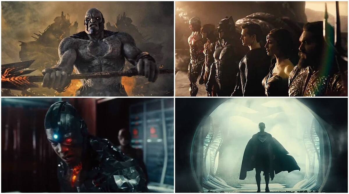 Justice League Snyder Cut teaser: Zack Snyder's version of DC movie doesn't impress | Entertainment News,The Indian Express
