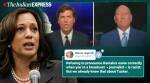 kamala harris, kamala harris joe biden, kamala harris vp candidate, tucker carlson kamala harris name mispronounce, fox news host mispronounce kamala name, viral news, us presidential election, indian express