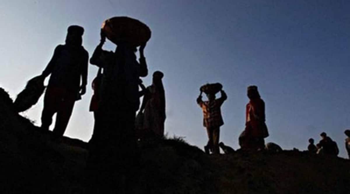 National Rural Employment Guarantee Scheme, NREGS, NREGS data, NREGS portal, India news, Indian Express