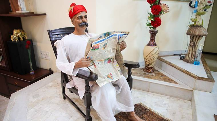 Lokmanya Tilak statue, 100-year-old statue, Pune news, Maharashtra news, Indian express news