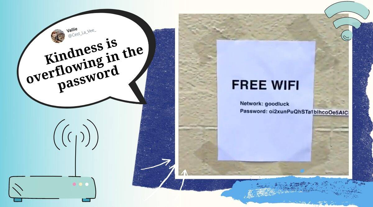 free wifi pasword, free wifi password prank, password prank, pablo rochat, pablo rochat free password, free wifi long password, indian express