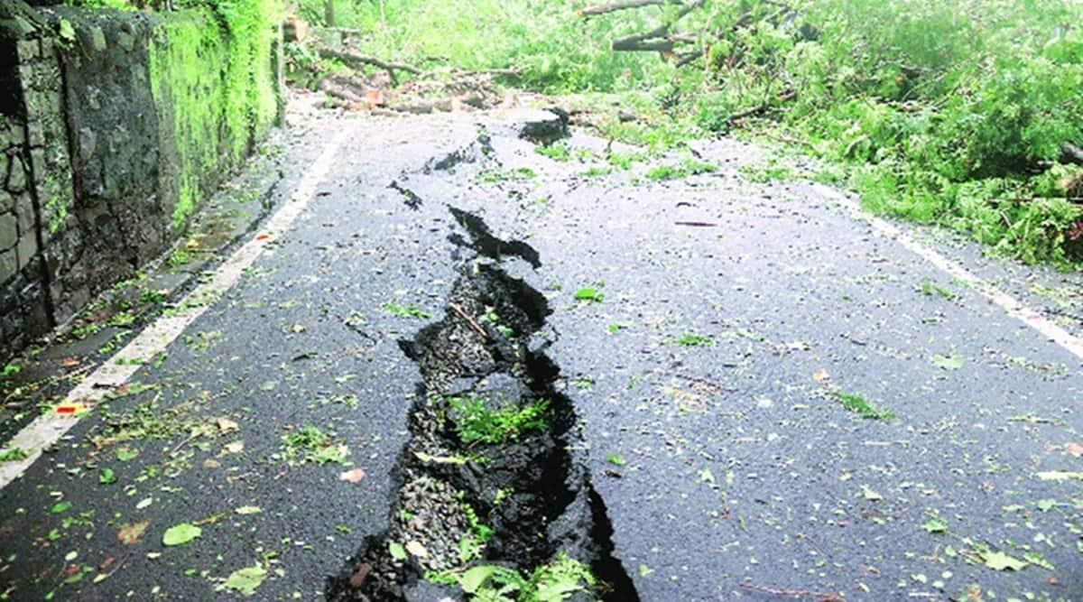 Mumbai monsoon, mumbai rain, malabar hill, malabar hill landslide, bmc, malabar hill landslide reason, indian express news