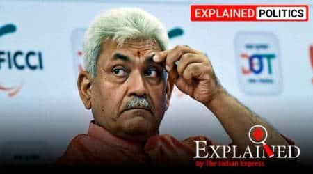 manoj sinha, manoj sinha kashmir LG, new kashmir governor, manoj sinha profile, GC Murmu resign, LG Jammu and Kashmir, indian express explained, explained news