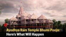 Ayodhya Ram Temple Bhumi Pooja: Here's What Will Happen