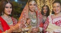 Rana Daggubati-Miheeka Bajaj wedding: The bride looked like a dream in an embroidered lehenga