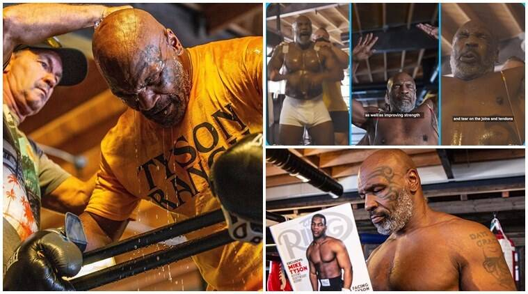 At 54, Mike Tyson reveals remarkable transformation after electric muscle stimulation - The Indian Express