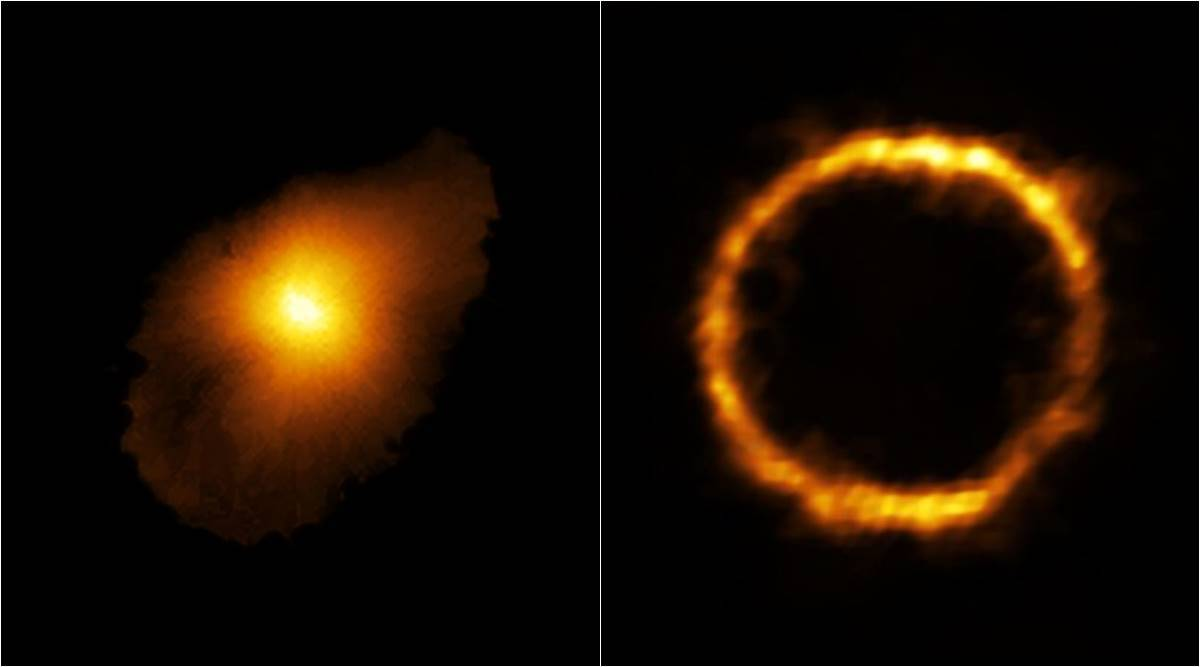 alma, alma telescope chile, milky way lookalike galaxy, new galaxy discovery, most distant galaxy, oldest galaxy, SPT0418 47 galaxy