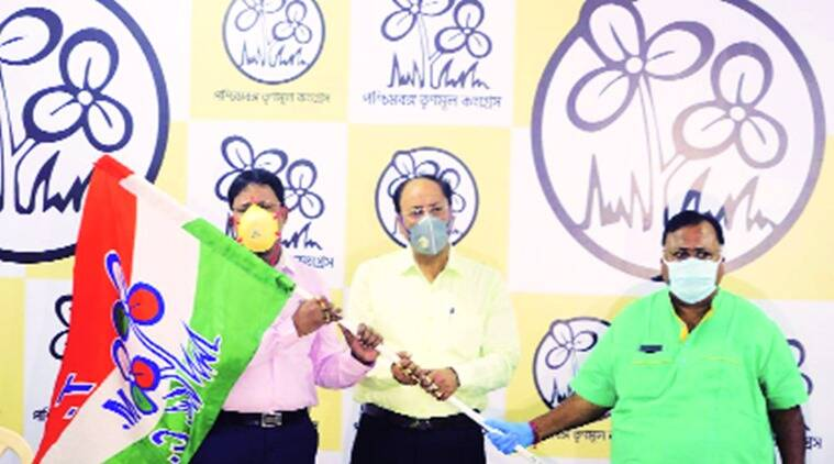 tmc, Biplab Mitra, tmc mla Biplab Mitra, Biplab Mitra retruns to tmc, Partha Chatterjee, indian express news