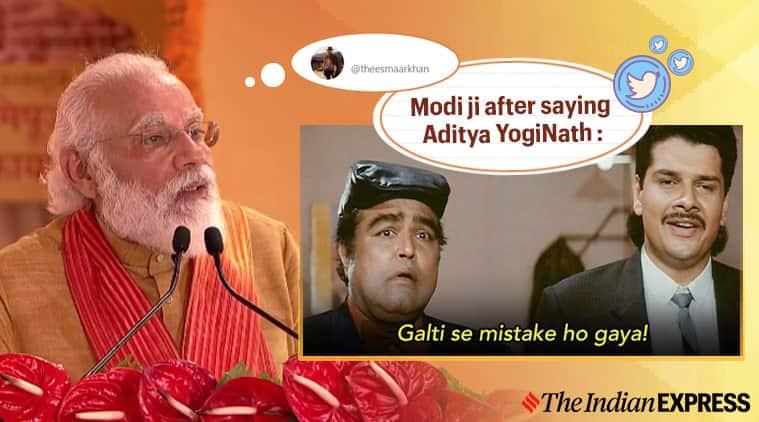 ram mandir, ayodhya bhoomi pujan, modi ayodhya speech, aditya yoginath, modi yogi name change, ram mandir news, modi ram mandir, pm modi, modi, narendra modi, modi news, ram mandir latest news, ayodhya ram mandir, ayodhya ram mandir, ayodhya ram mandir news, ayodhya ram mandir today news, ayodhya ram mandir latest news, indian express, viral news